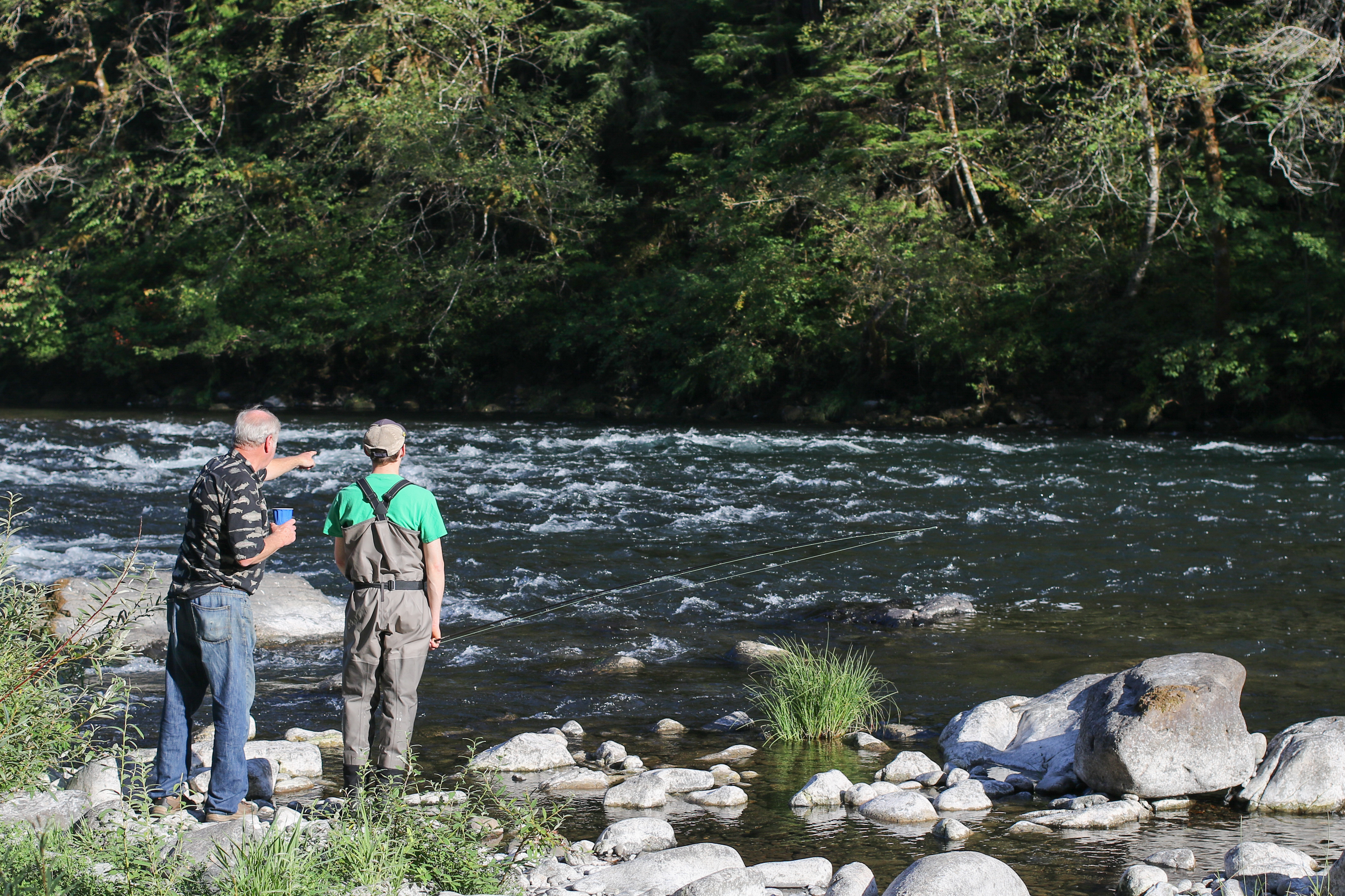 North umpqua fly fishing and tying festival 2017 for Fly fishing tying