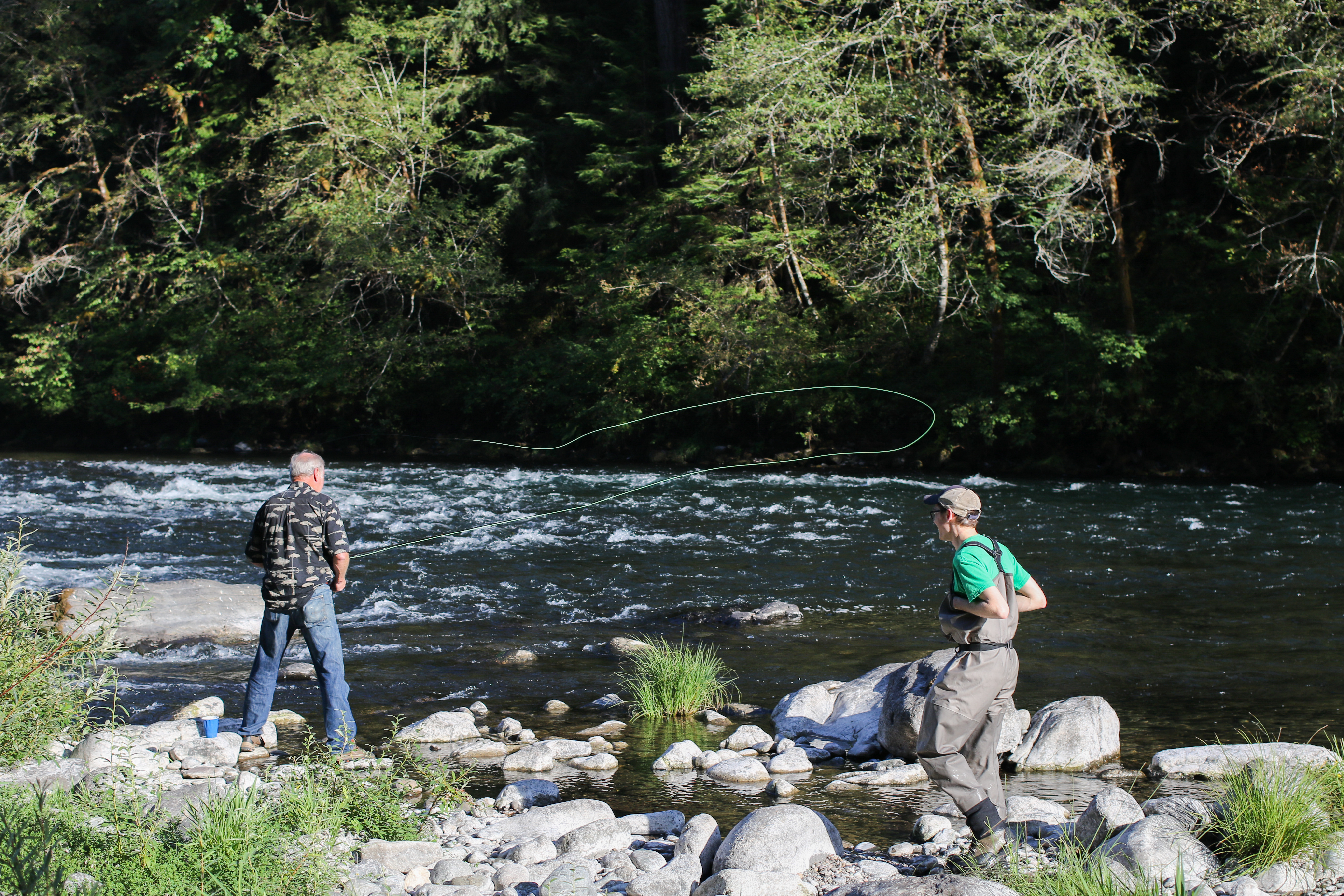 North umpqua fly fishing and tying festival 2017 for Fly fishing shows