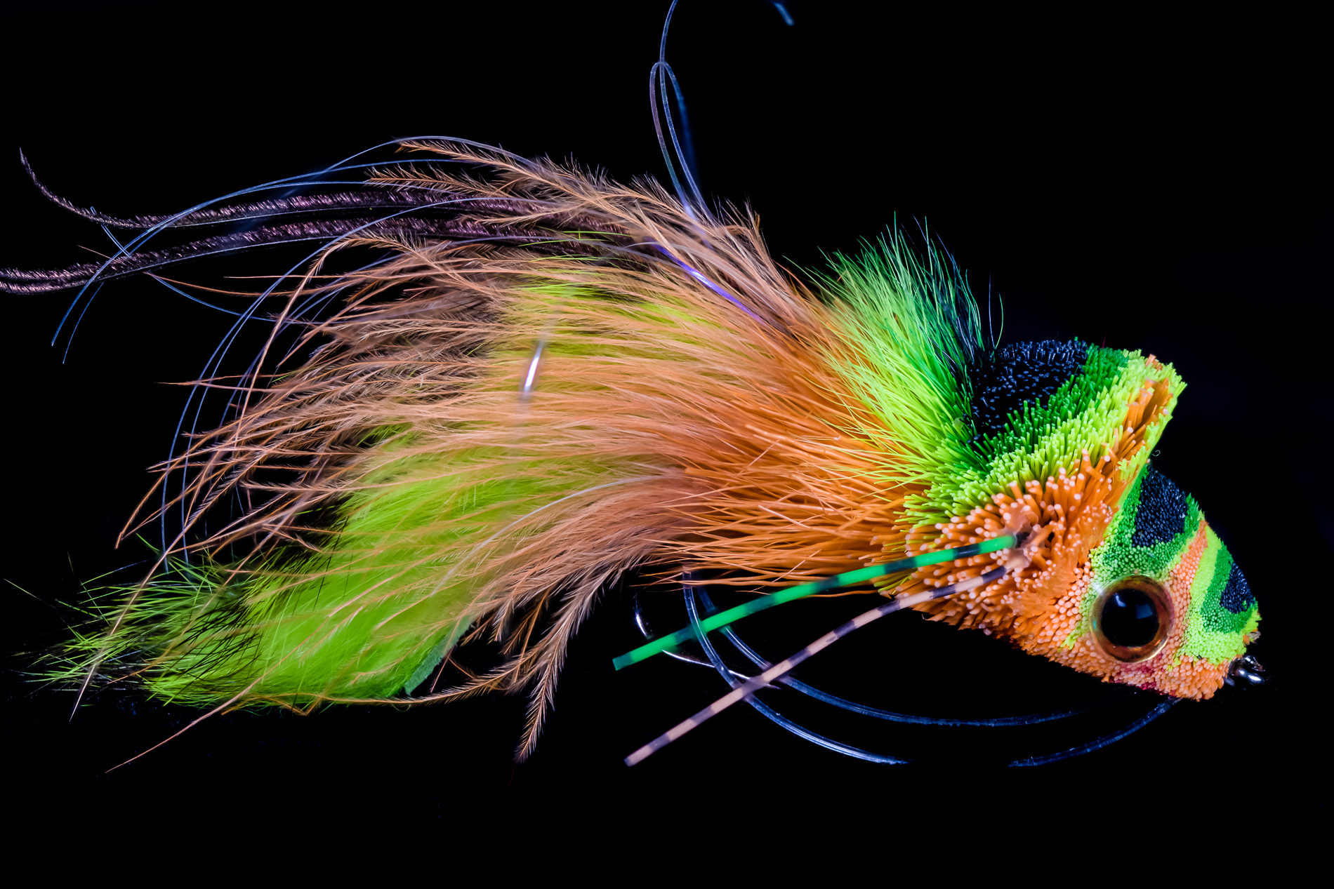 Bass Fly by Derek Darst.
